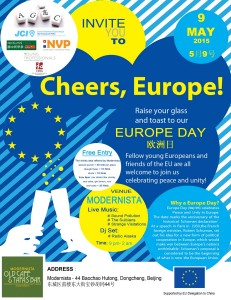 Europe Day flyer