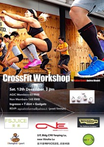 AGIC -CrossFit Workshop